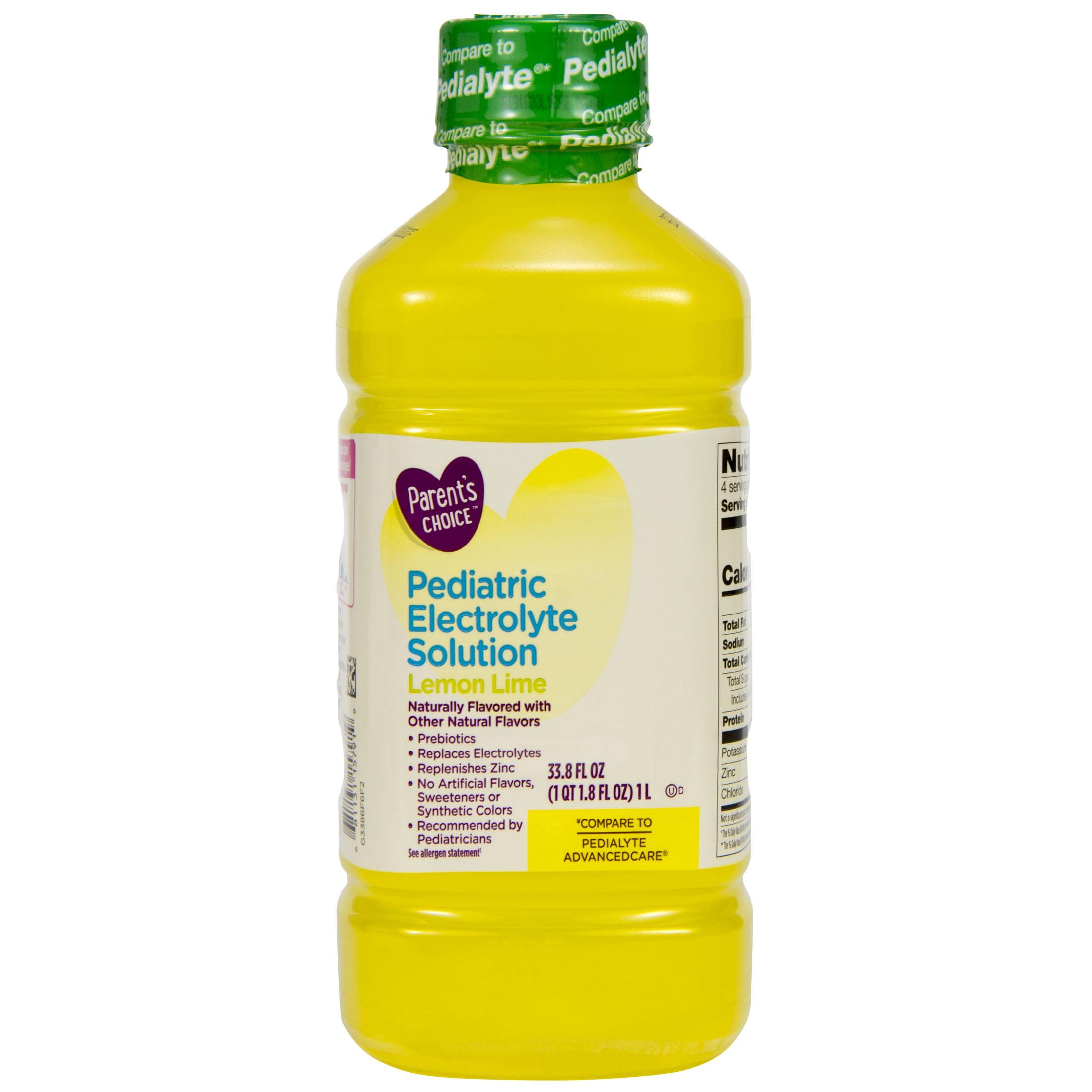Parent's Choice Lemon Lime Electrolyte Solution, 1 Liter