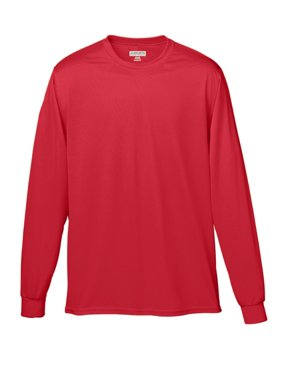 789 Wicking Long Sleeve T-shirt-youth RED M