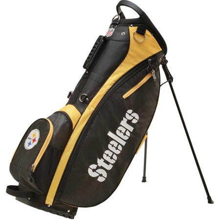 Wilson NFL Carry Golf Bag, Pittsburgh Steelers ()