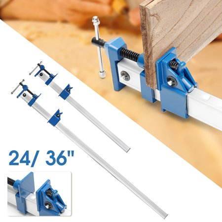 5c Clamp - 24/36''Quick Release F-Clamp Bar Clamp For Wood Working Grip Carpenter Hand Tool