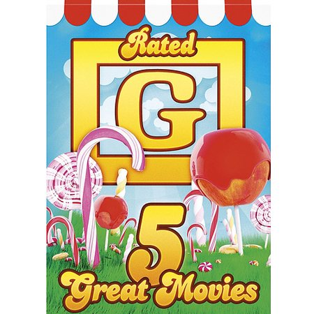 5 Great Movies  Rated G  Dvd