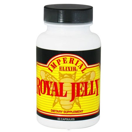 Jelly 500 Mg 50 Capsules - imperial elixir royal jelly 500 mg capsules - 50 ea