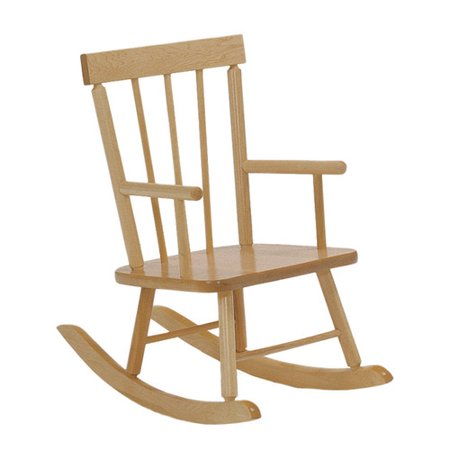 Steffy wood products kids rocking chair for Child s first chair