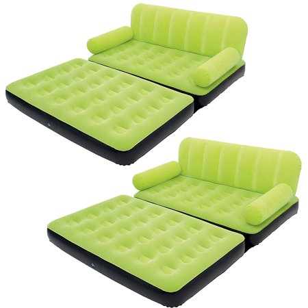 Multi Max Air Convertible Couch Sidewinder AC Air Pump, Green (2 Pack) (Best Way To Hang Xmas Lights Outside)