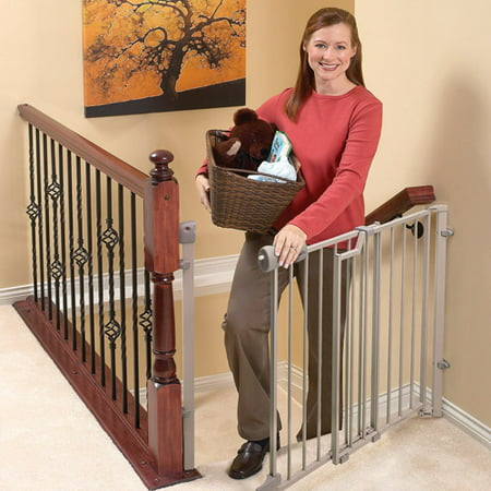 Evenflo Secure Step Top Of Stairs Metal Gate