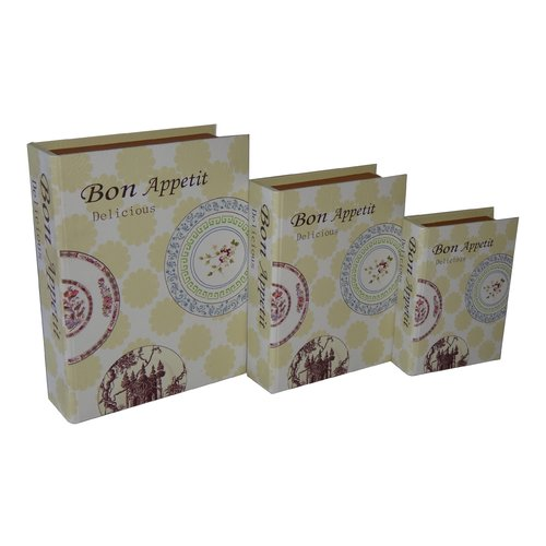 Cheungs 3 Piece ''Bon Appetite'' Vinyl Book Box Set