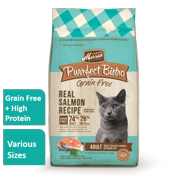 Merrick Purrfect Bistro Grain-Free with Real Salmon Dry Cat Food, 12 lb