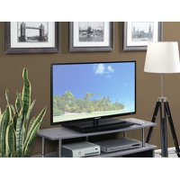 Convenience Concepts Designs2Go Single Tier TV Swivel Board for Flat Panel TV's up to 20-Inch or 60-Pounds, Black