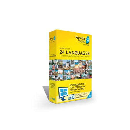 Rosetta Stone 24 Month (1U) SaaS Agnostic with Download