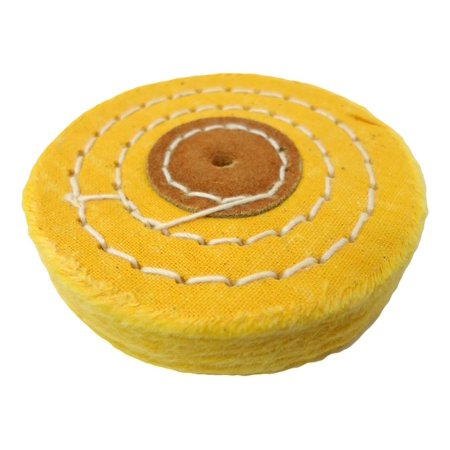 Hawk Yellow Cotton Wheel - 3