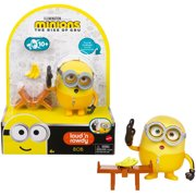 Minions Loud N' Rowdy Bob Character Toy For Kids Ages 4 Years & Up