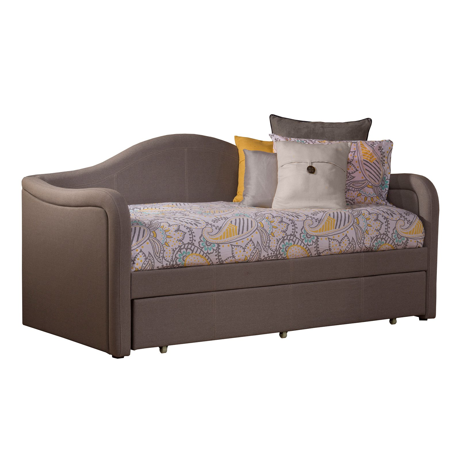 Upholstered Daybed hillsdale furniture porter daybed - walmart