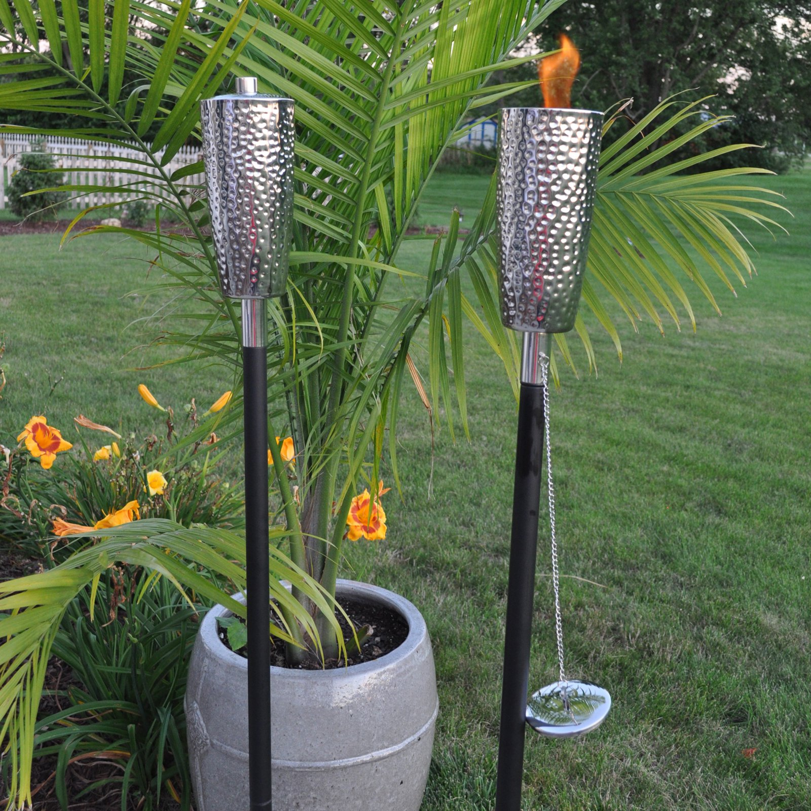Olympia Jumbo Tiki Torch by Outdoor Torches