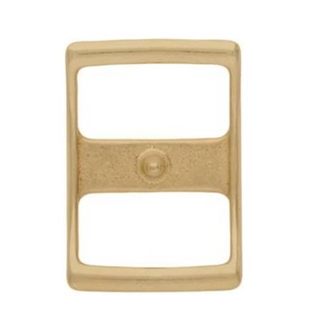Weaver Leather 3/4 in Solid Brass Conway Buckle