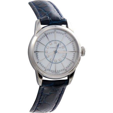 Hamilton watch Railroad Lady 12P diamond H40311691 Ladies (Lady Hamilton Watch)