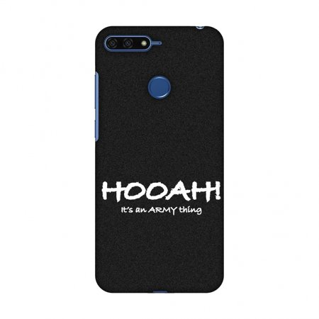 quality design 93f91 3082f Huawei Honor 7A Case, Premium Handcrafted Designer Hard Snap on Shell Case  ShockProof Back Cover for Huawei Honor 7A - Hooah! - Army Thing
