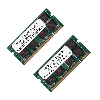 Komputerbay 8GB DDR2 SODIMM (200 pin) 800Mhz PC2 6400 / P...
