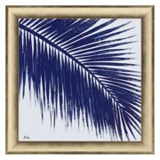 Paragon Indigo Baru Palm II Framed Wall Art