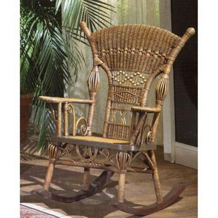 Aunt Millie Wicker Rocking Chair ()