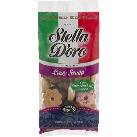 Recipes For Halloween Finger Cookies ((2 Pack) Stella D'oro Lady Stella Assorted Cookies, 10)