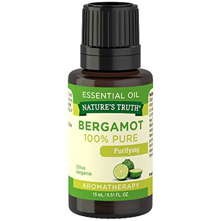 4 Pack Natures Truth Aromatherapy 100% Pure Bergamot Essential Oil 0.51oz