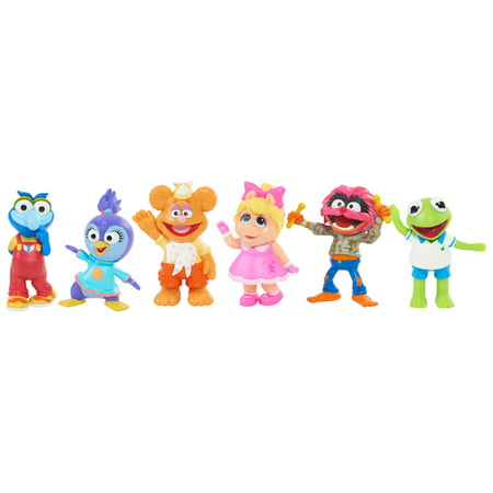 Muppet Babies Playroom Figure Set - 6 Pieces