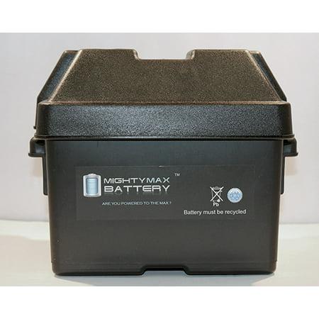 Group U1 Sla   Gel Battery Box For Minn Kota Trolling Motor