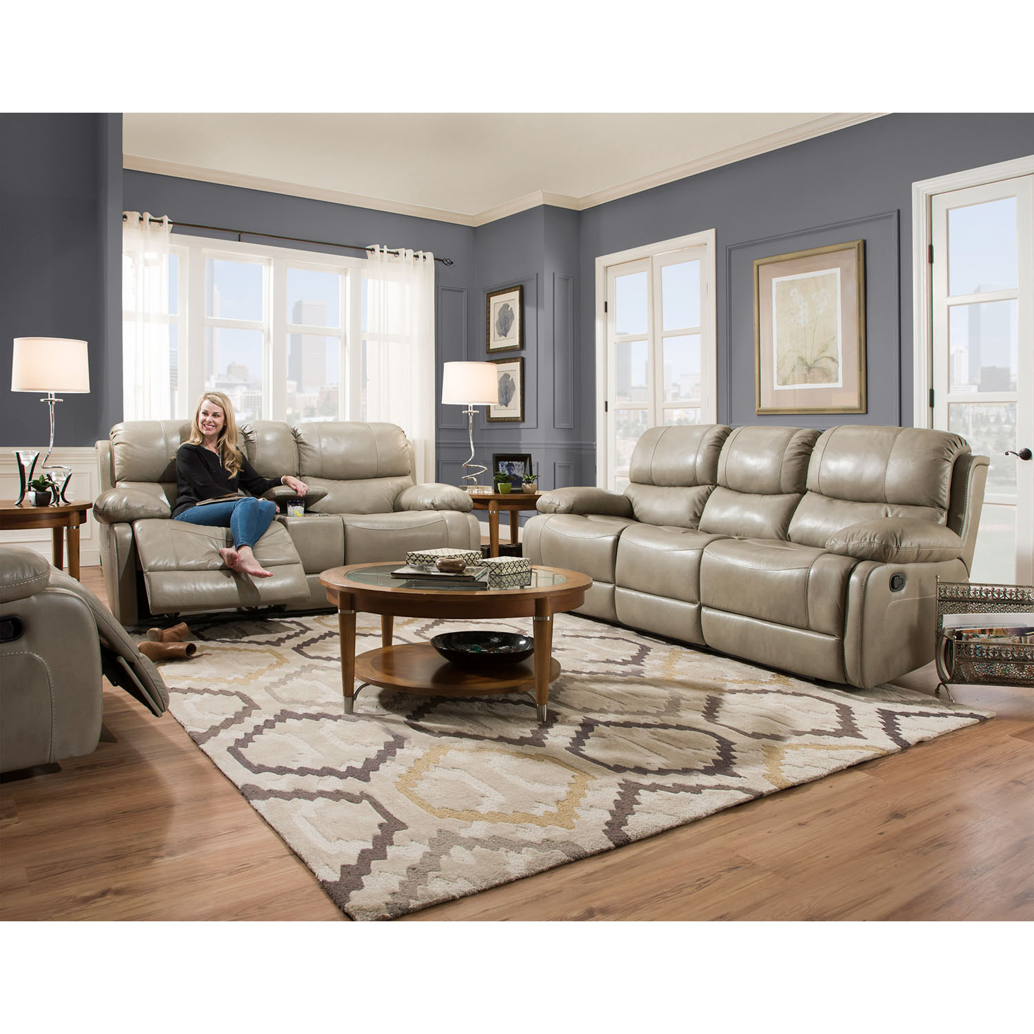 Cambridge Austin 2-Piece Living Room Set: Sofa And