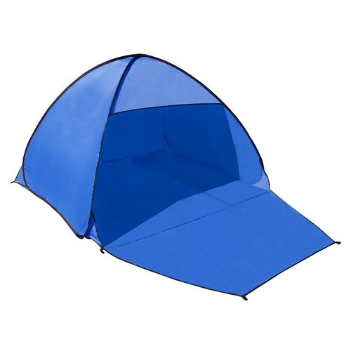 ALEKO PTB21 Outdoor Portable Instant Pop-Up Beach Tent Sun Shelter, Blue