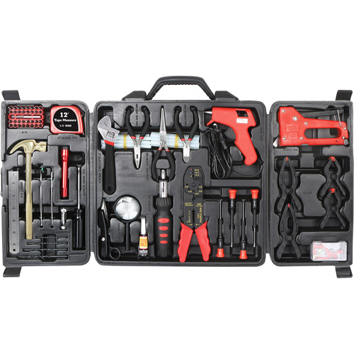 Great Neck 128 Piece Home and Hobby Tool Set w/Carrying Case TK128