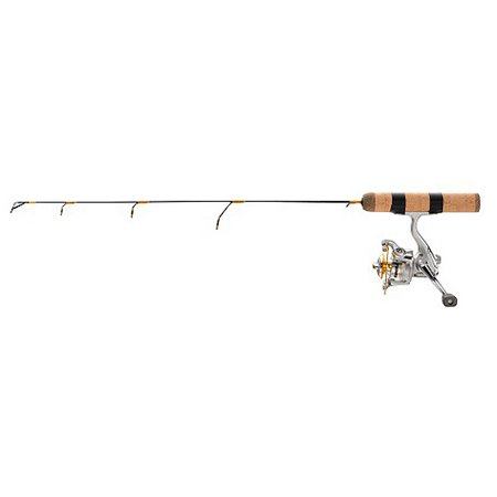 frabill ice hunter 27 medium light ice fishing combo
