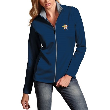 info for 28678 1dde4 Houston Astros Antigua Women's Leader Full-Zip Jacket - Navy