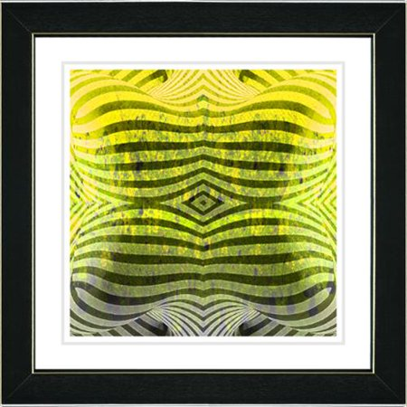 Studio Works Modern  Rio Bio Bio   Yellow Framed Art Print
