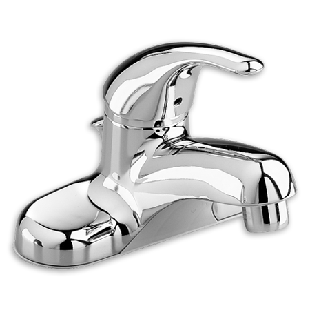 American Standard Colony Soft Centerset Single-Handle Bathroom Faucet without Drain in Chrome American Standard Chrome Soft Faucet