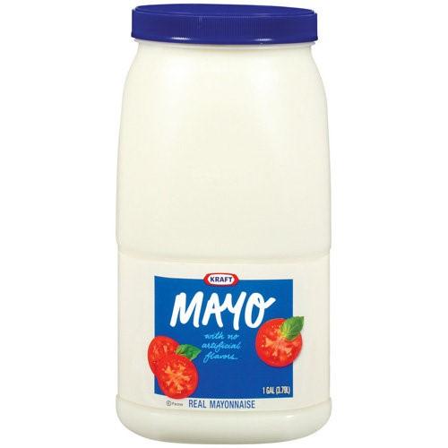 Kraft Real Mayonnaise 1 gal. Jug