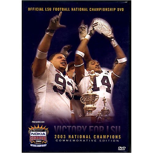2003 Lsu National Championship Highlights (DVD)