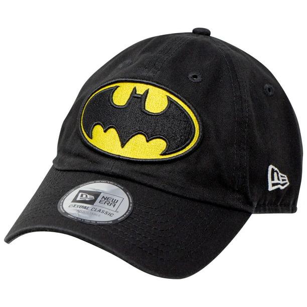Batman Classic Symbol New Era Casual Classic Adjustable Dad Hat Black