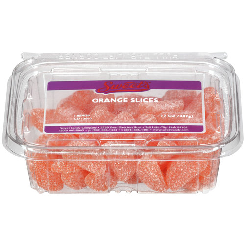 Sweet Candy Company Orange Slices, Tub