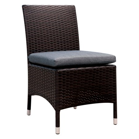 Furniture of America Karrot Contemporary Outdoor Dining Side Chair ()
