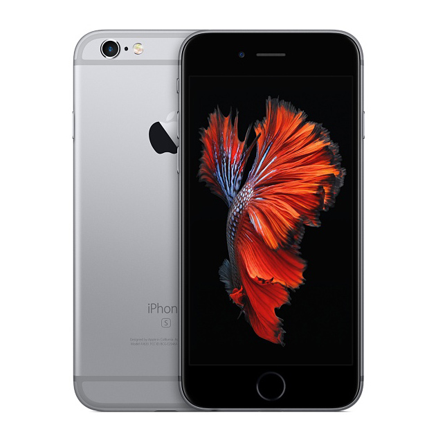 Apple iPhone 6s 16GB - Black/Space Gray - ATT - B