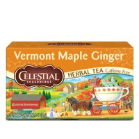 Celestial Seasonings Vermont Maple Ginger Herbal Tea, 20 Count Box
