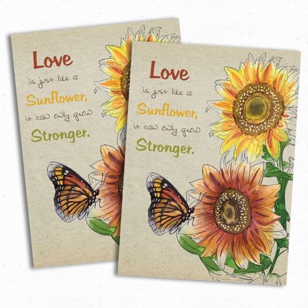 Set Of 25 Colorful Sunflower Wedding Favors Seed Packets Autumn Beauty Mixture Helianthus