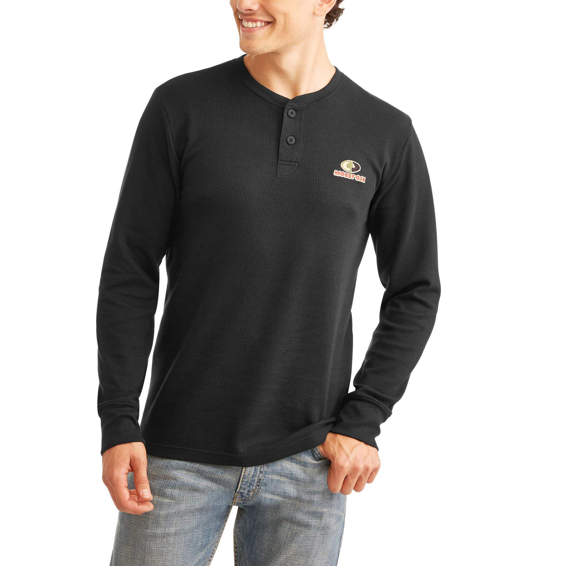 Big Men's Anitmicrobial Thermal Henley