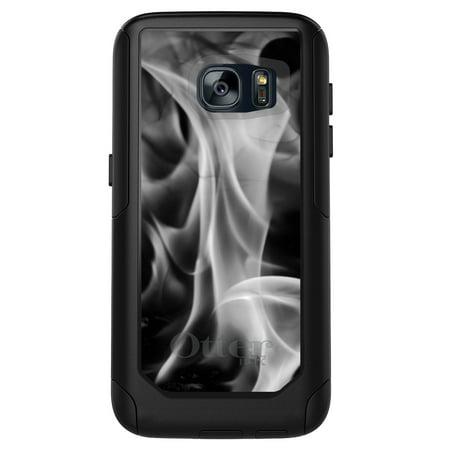 super popular c45f9 95fb6 DistinctInk™ Custom Black OtterBox Commuter Series Case for Samsung Galaxy  S7 - Grey Black Flame Fire