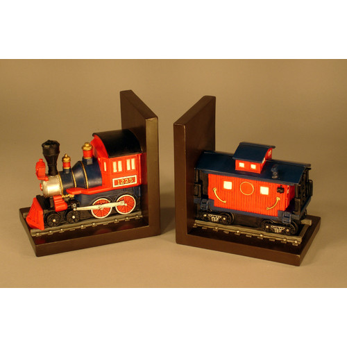 Judith Edwards Designs Train Bookends (Set of 2)