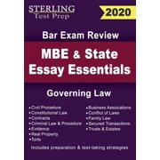 Sterling Test Prep MBE and State Essays Essentials: Governing Law for Bar Exam Review (Paperback)