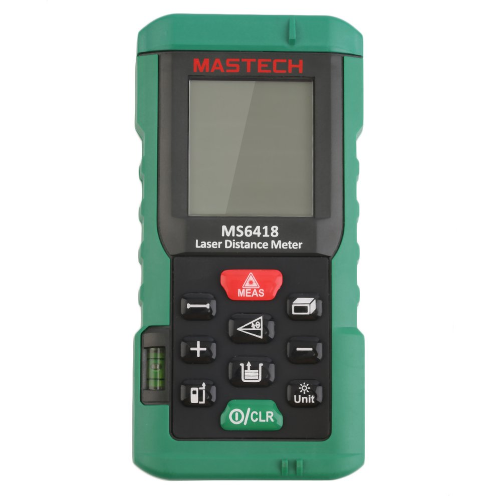 MASTECH 80m Digital Laser Range Finder Distance Meter Tester Area Volume