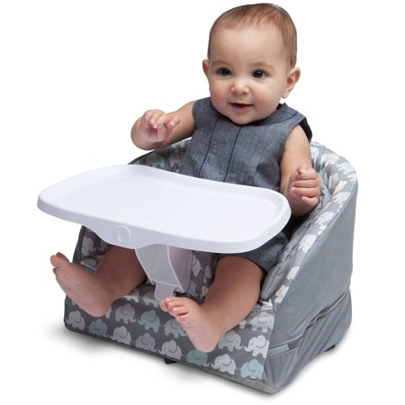Boppy Baby Chair Elephant Walk Gray