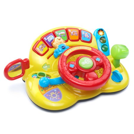 VTech Turn & Learn Driver With Steering Wheel and Traffic - Best Learning Toys For 2 Year Old