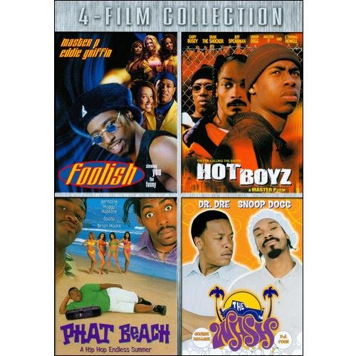 Foolish / Hot Boyz / Phat Beach / The Wash (DVD)